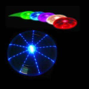 gekleurde frisbee