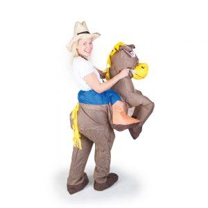 opblaasbaar cowboy kostuum