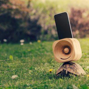 versterker iphone esdoorn