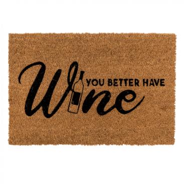 vloermat wijn