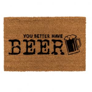 vloermat bier